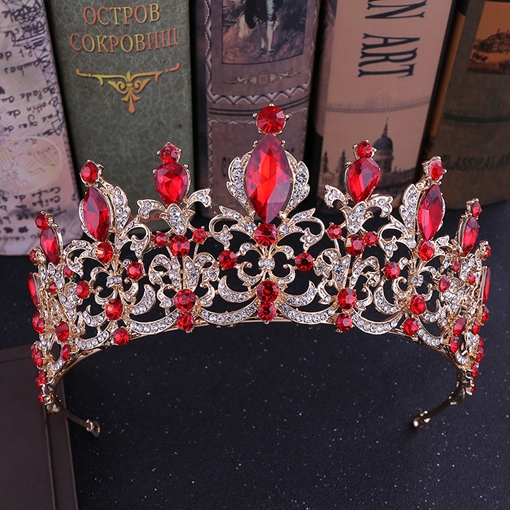 Tiara Diamante Crown Hair Accessories (Wedding)