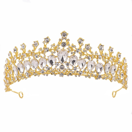 Tiara Crown Korean Hair Accessories (Wedding)
