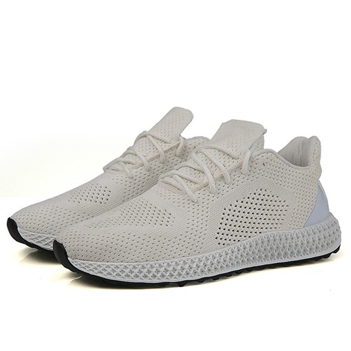 Flat Elastic Band Hollow Breathable Men's Sneakers