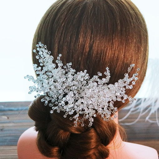 Handmade Bead Wedding Hair Comb
