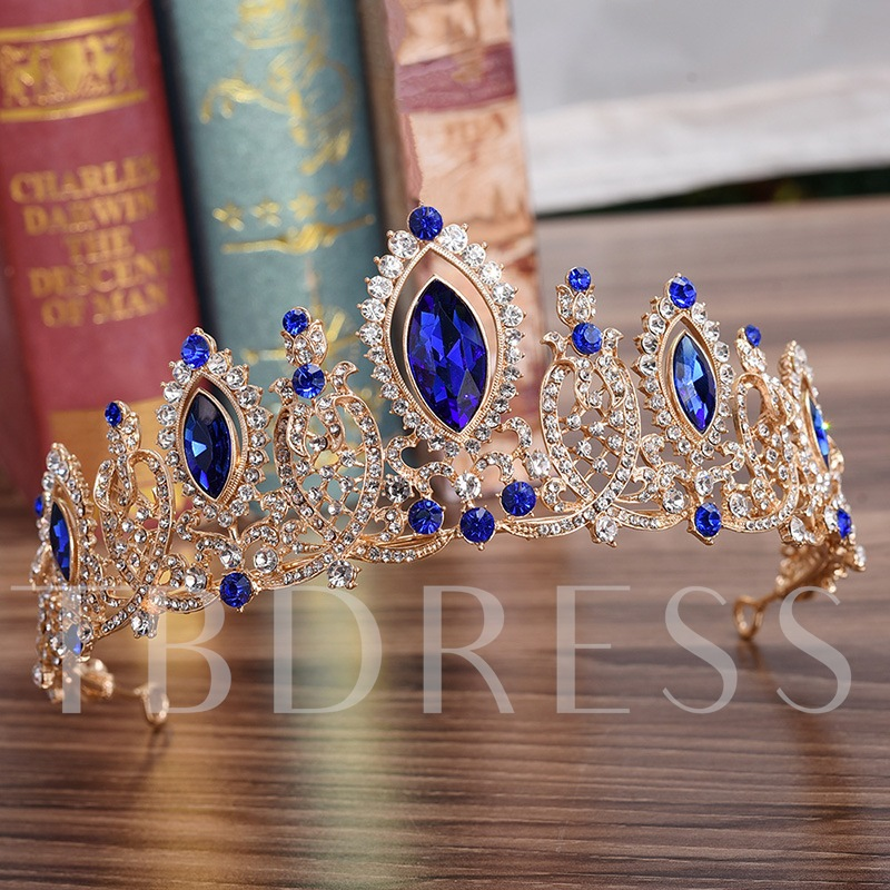 Crown European Diamante Hair Accessories (Wedding)