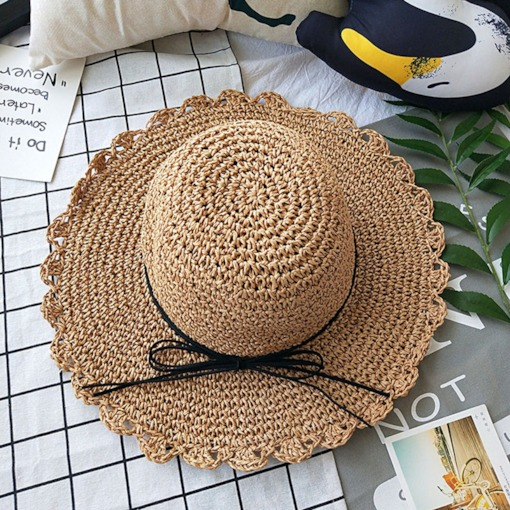 Straw Hat Sweet Hollow Plain Hats