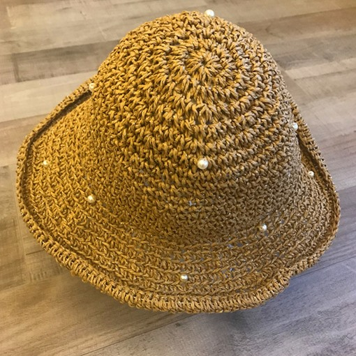 Straw Plaited Article Hollow Straw Hat Fall Hats