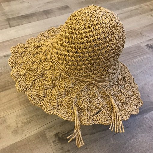 Straw Plaited Article Korean Bowknot Summer Hats