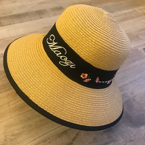 Korean Straw Hat Straw Plaited Article Summer Hats