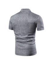 Plain Casual Men's Polo Shirt