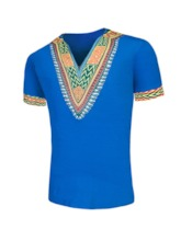 Print Casual Geometric Straight Men's T-shirt