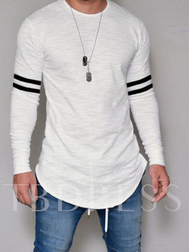 Stripe Casual Straight Men's T-shirt