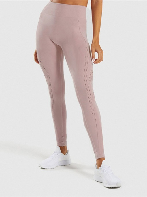 Hollow Breathable Sports Casual Women's Leggings