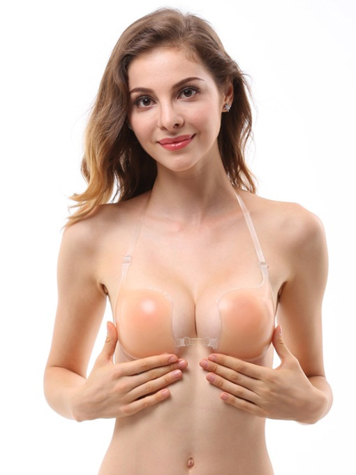 Invisible Half Cup Underwire Women's Breast Petals