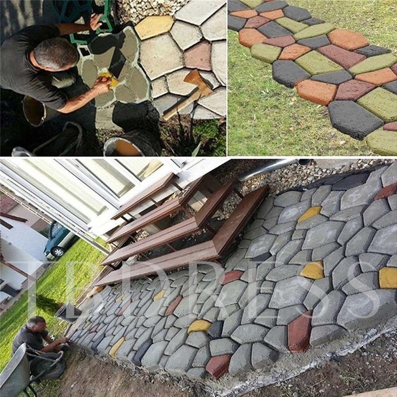 A New Diy Pavement Mold For Pavement And Cement