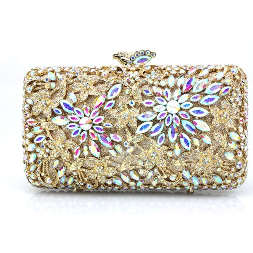 Banquet Rectangle PU Clutches & Evening Bags