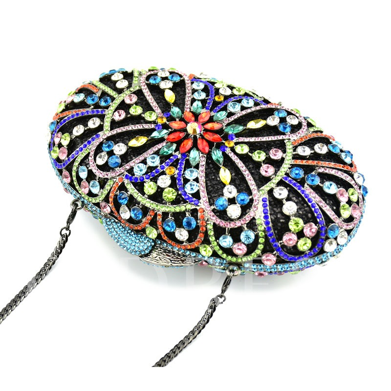Floral Versatile PU Clutches & Evening Bags