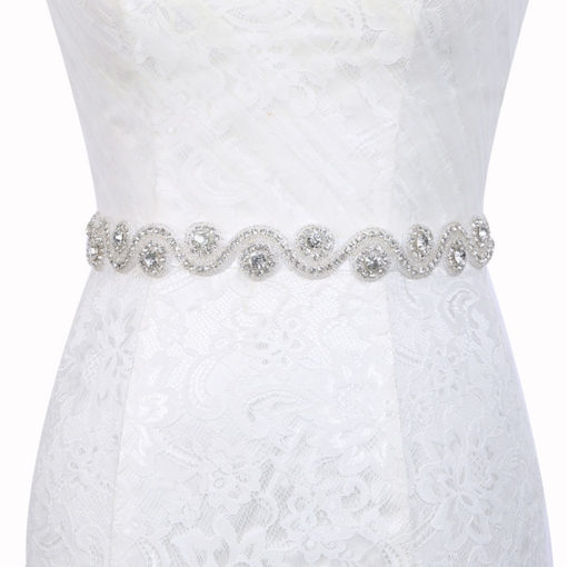 Polyester Beading Regular Bridal Belt 2019