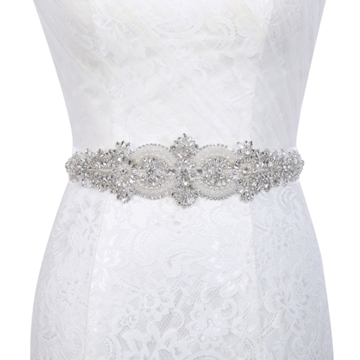 Bead Polyester Wide Belt(>4cm) Bridal Belt 2019