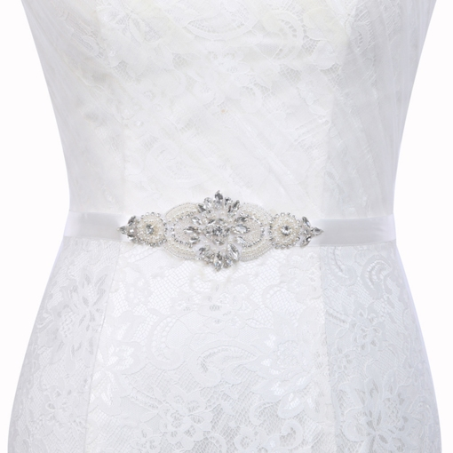 Beading Regular Polyester Bridal Belts 2019