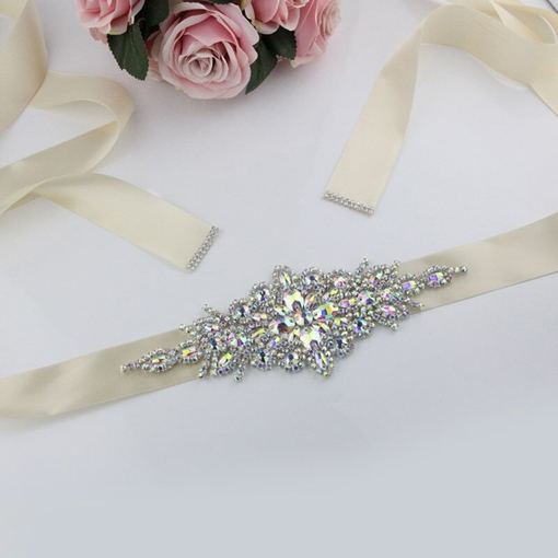 Polyester Wide Belt Mosaic Bridal Belts 2019
