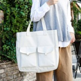 Summer Cool Canvas Plain Shoulder Bags