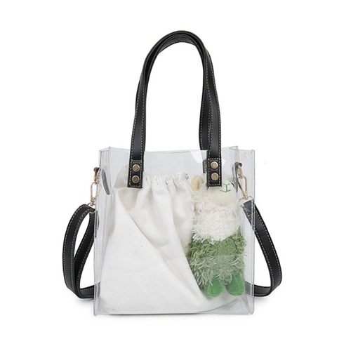 Casual PVC Rectangle Shoulder Bags