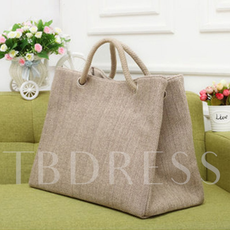 Summer Canvas Soft Cool Shoulder Bag
