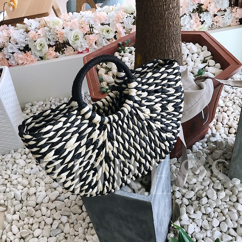 Casual Grass Knitted Straw Bags