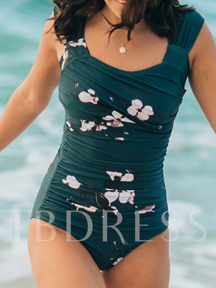 Floral One Piece Print Women's Swimwear
