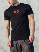Men's Pullover Short Sleeve Workout Tops