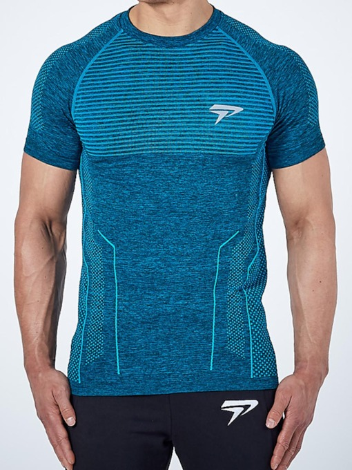 Men's Short Sleeve Pullover Workout Tops