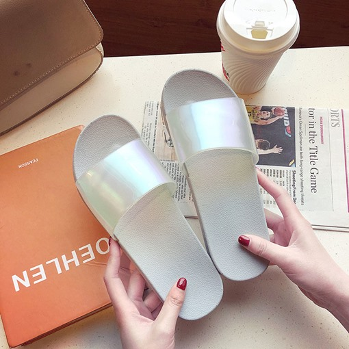 Flat Slip-On Casual Women's Ugly Sandals