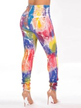 Color Block Western Women's Leggings