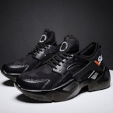 Sports Platform Lace-Up Chunky Sneakers for Men