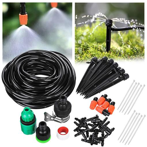 Home Automatic Watering Device Garden Irrigation System Diy Potted Plant Water Filter Drip Irrigation Set