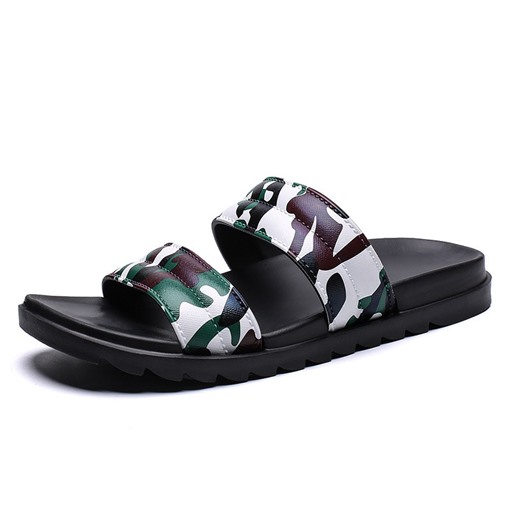 Summer Simple Camouflage Men's Slippers