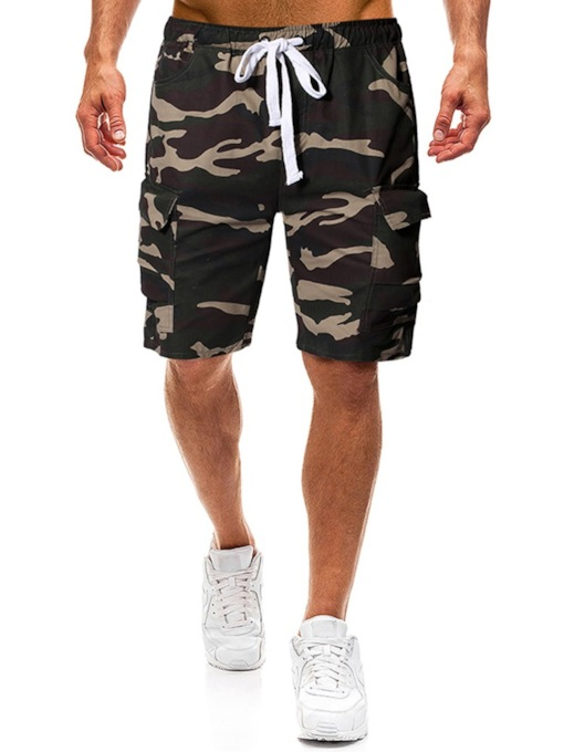 Thin Camouflage Pocket Men's Casual Pants