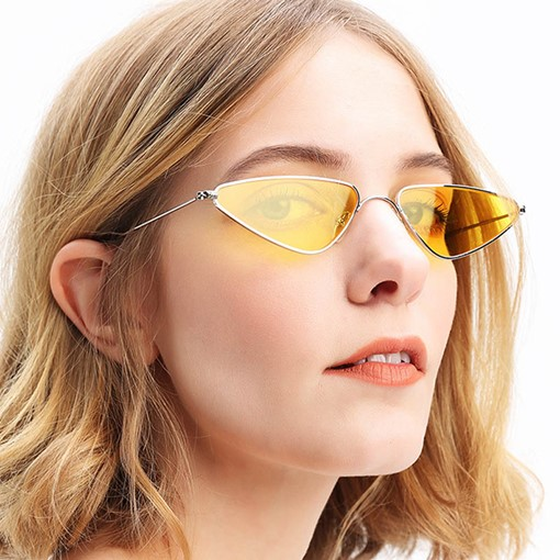 Stylish Wrap Triangle Shape Anti UV Sunglasses