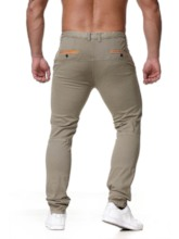 Pencil Pants Pocket Thin Casual Men's Casual Pants