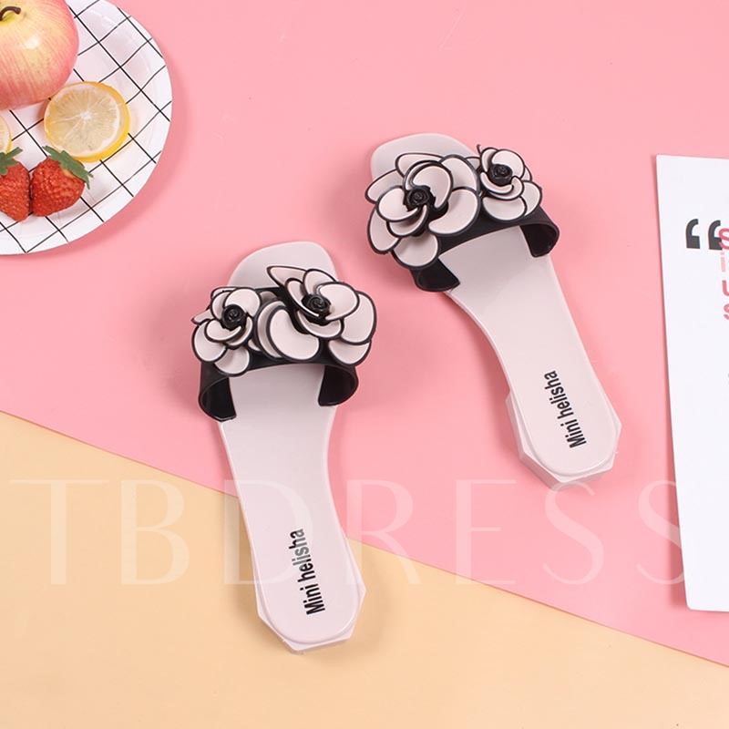 Appliques Slip-On Casual Women's Slippers