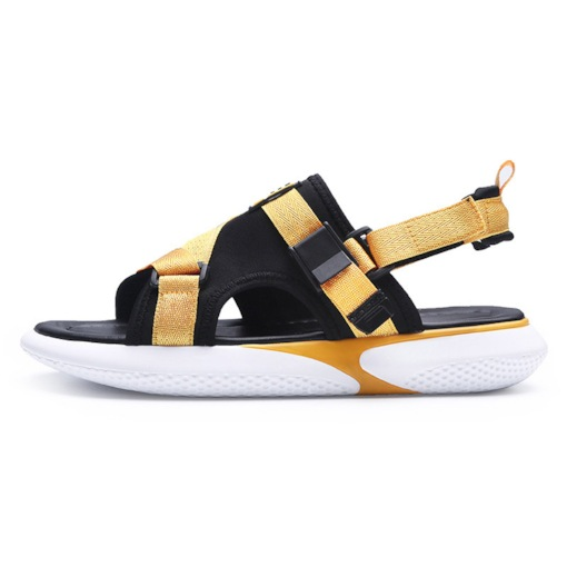 Color Block Slip-On Open Toe Men's Sandals