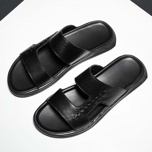 Simple Plain Summer Men's Slippers