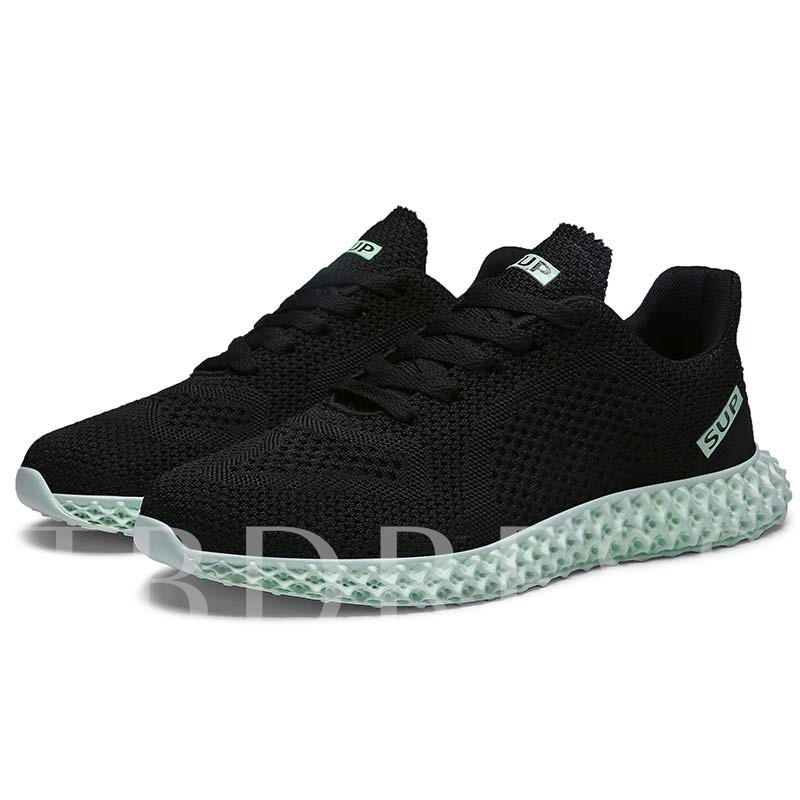Lace-Up Low-Cut Upper Chic Men's Sneakers