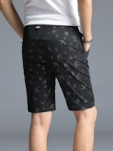 Loose Pocket Casual Men's Shorts