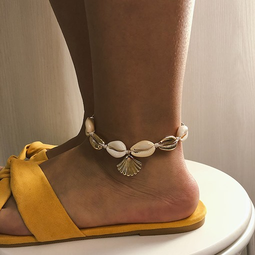 Shell Summer Beach Anklets for Women ( One Piece )