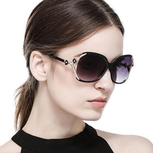 Luxury Oversized Lens UV400 Vintage Sunglasses