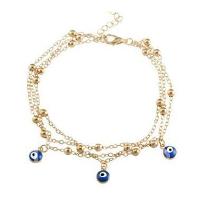 Summer Beach Pendant Anklets for Women Foot Jewelry