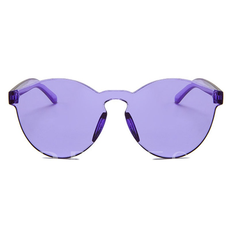 Oval Classic Lens Women/Men Mirror Sunglasses