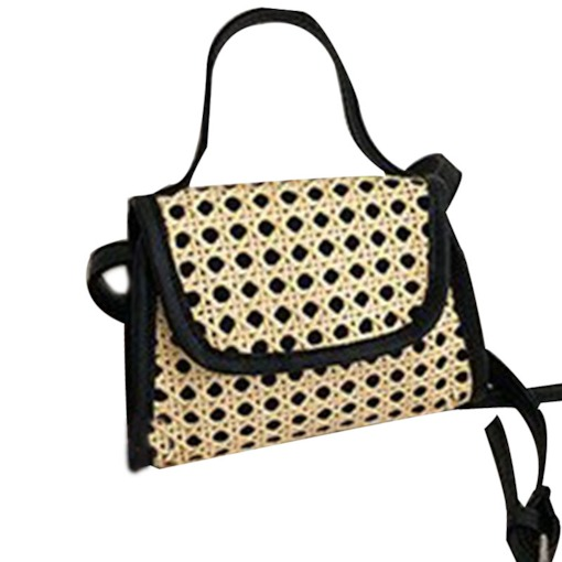 Plain Knitted Square Crossbody Bags