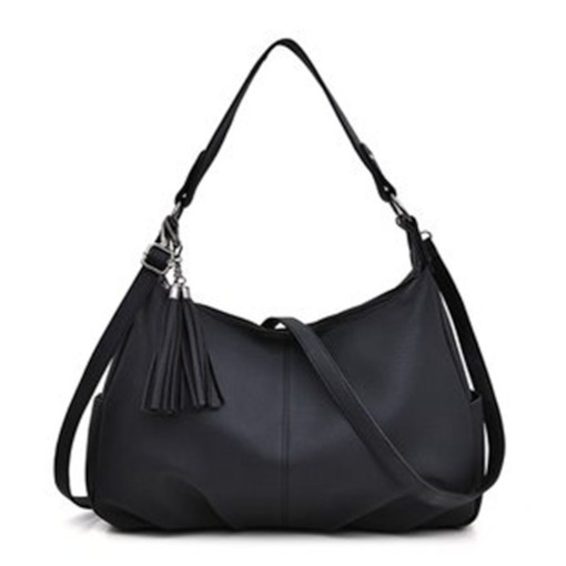 Retro PU Plain Shoulder Bags