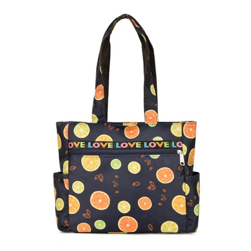 Print Oxford Square Shoulder Bags