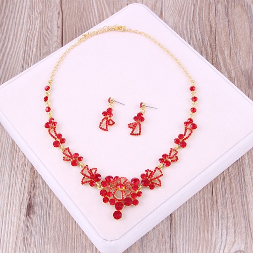Earrings Ethnic Floral Jewelry Sets (Wedding)