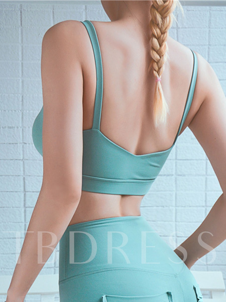 Plain Free Wire Spandex Full Cup Sports Bra